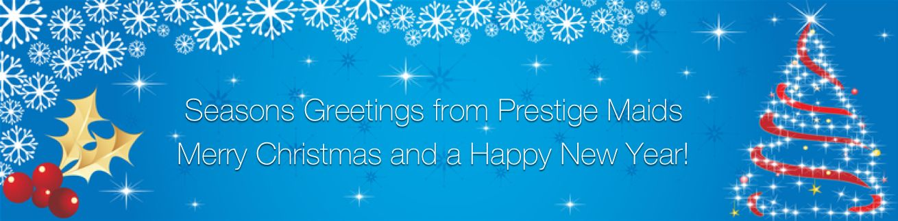 Merry Christmas from Prestige Maids