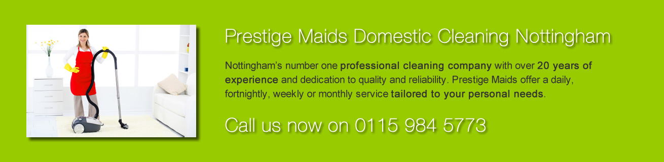 Prestige Maids Domestic Cleaning Nottingham