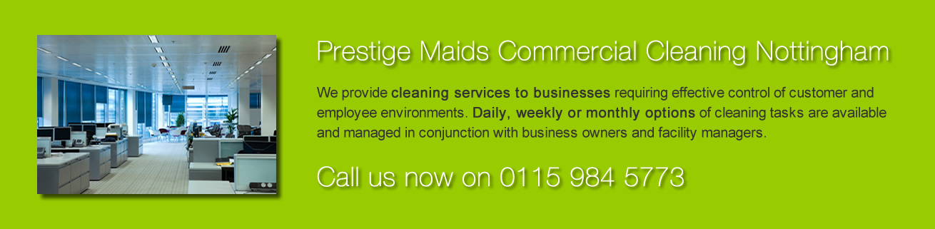 Prestige Maids Commercial Cleaning Nottingham