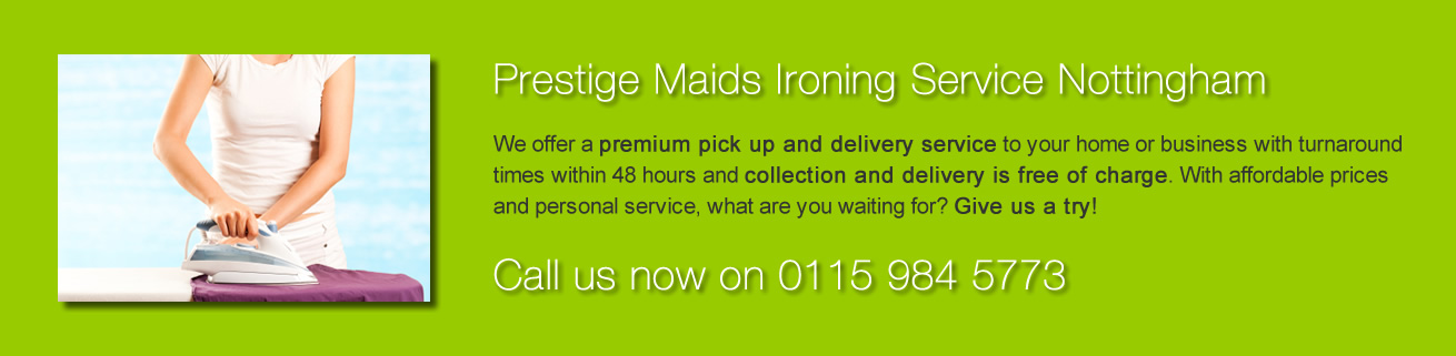 Prestige Maids Ironing Service Nottingham